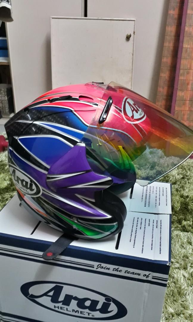 Helmet Arai Sakata Ram4