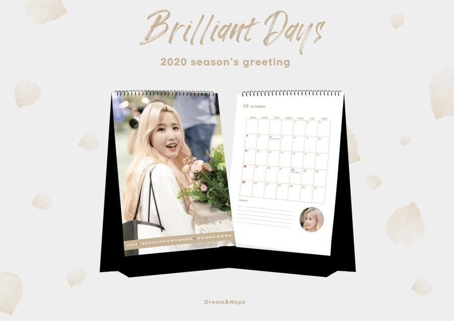 HITOMI - 2020 Season's Greeting 'Brilliant Days' [25/10]