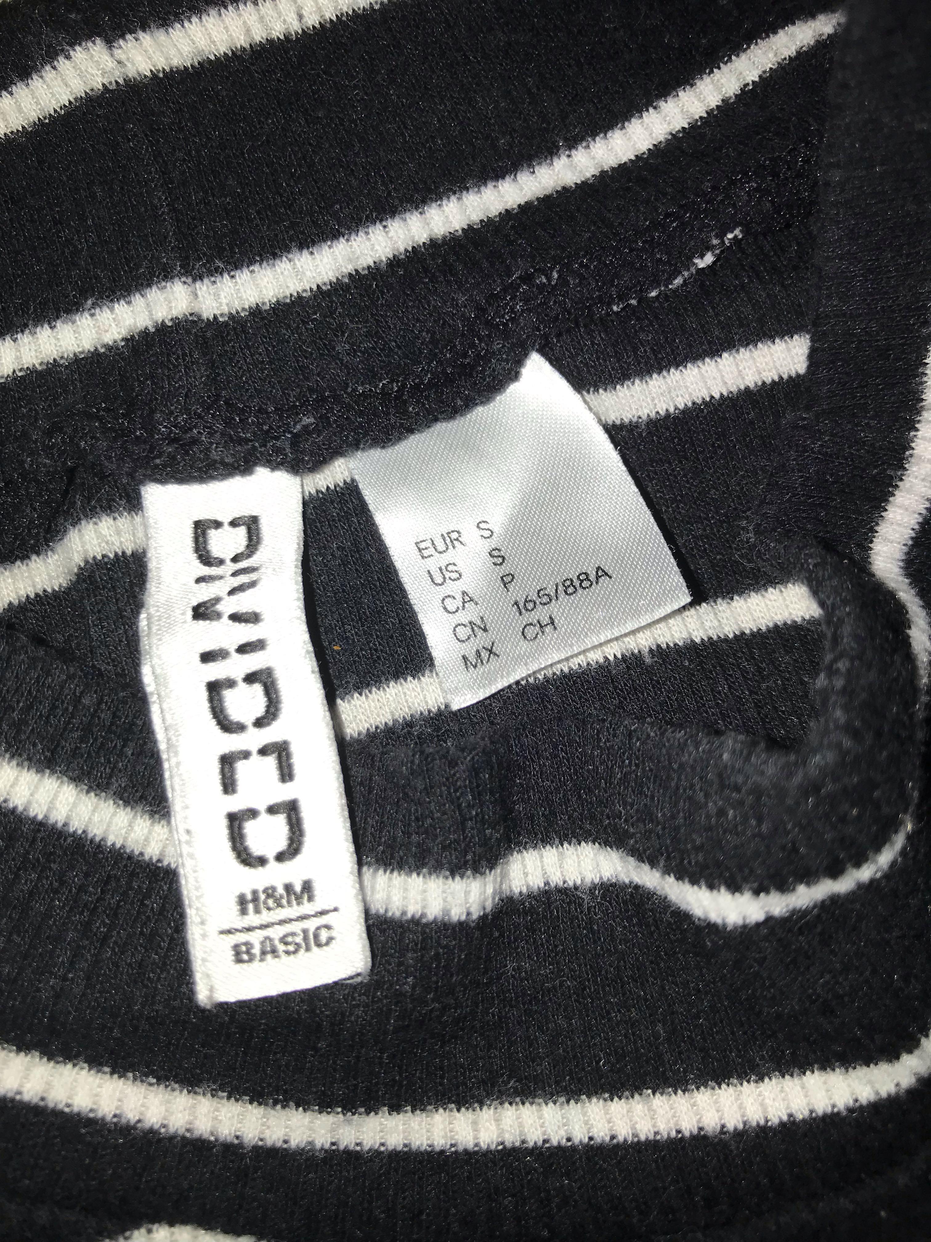 H&M turtleneck bodysuit