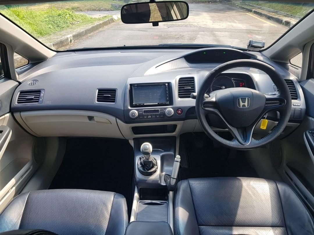 Honda Civic 1.8 VTI-S (M)