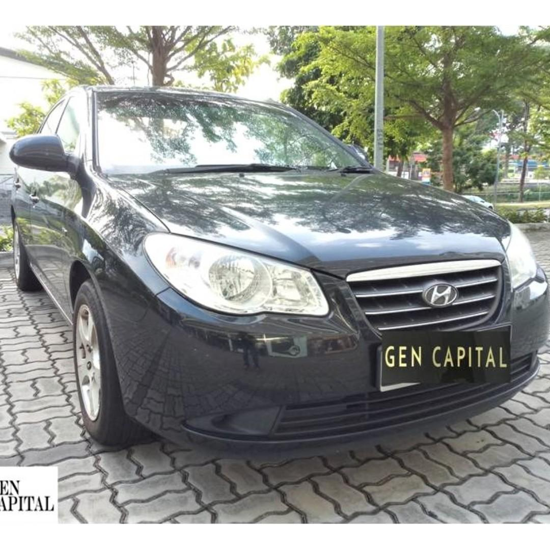 Hyundai Avante 1.6A *Lowest rental rates, good condition!