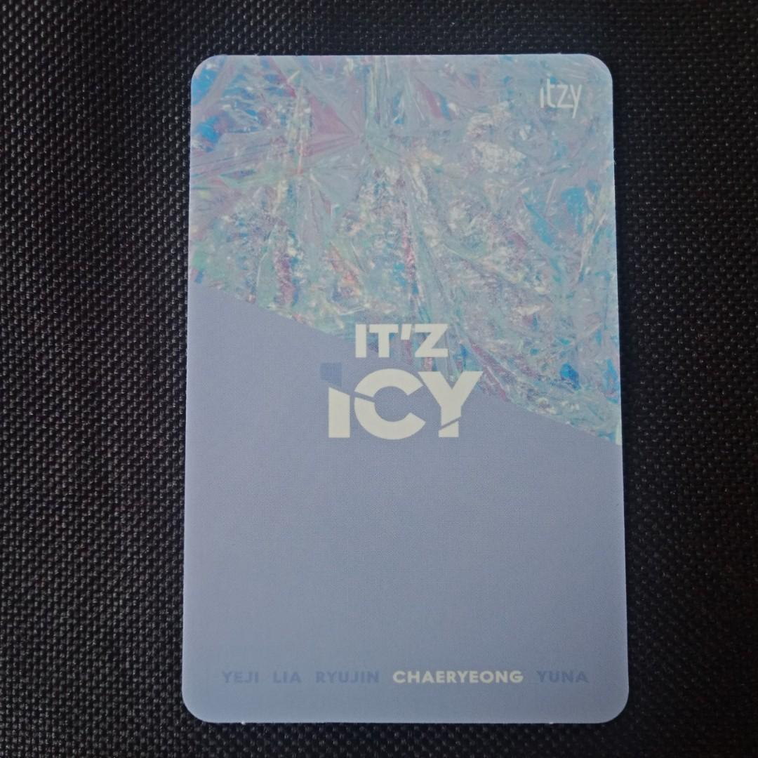 [ITZY CLEARANCE SALE] Chaeryeong Official Photocard - IT'Z ICY