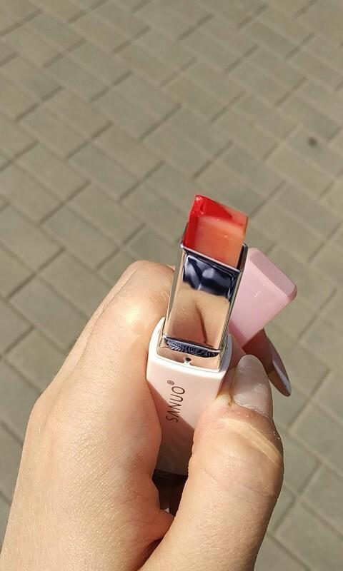 Korean Bite Lipstick V Cutting Two Tone Tint Silky Moisturzing Nourishing Lipsticks Balm Lip Cosmetic Gradient color