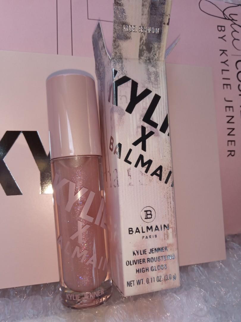 Kylie cosmetics x balmain - model behaviour high gloss