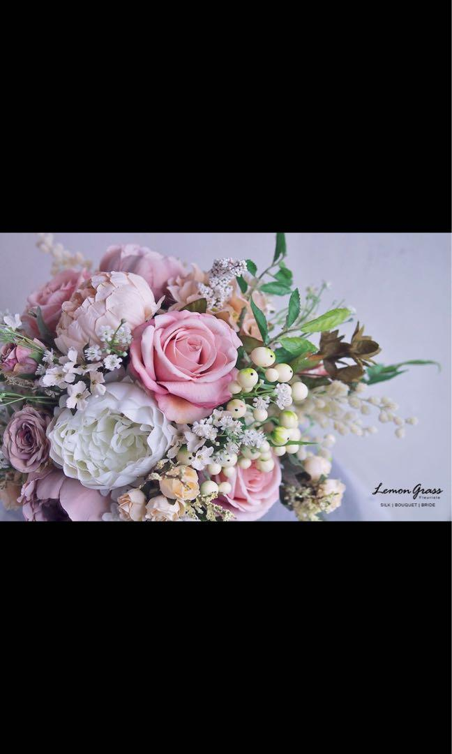 Lemongrass 花球 婚後物資 幸福傳承