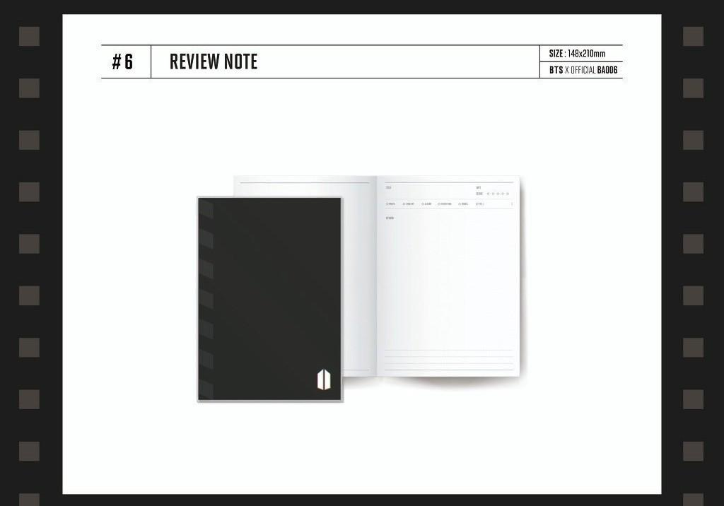 [LOOSE] BTS Global Official Fanclub Army Membership Kit - Review Note / Limited Edition