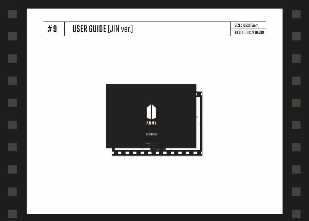 [LOOSE] BTS Global Official Fanclub Army Membership Kit - User Guide / Limited Edition