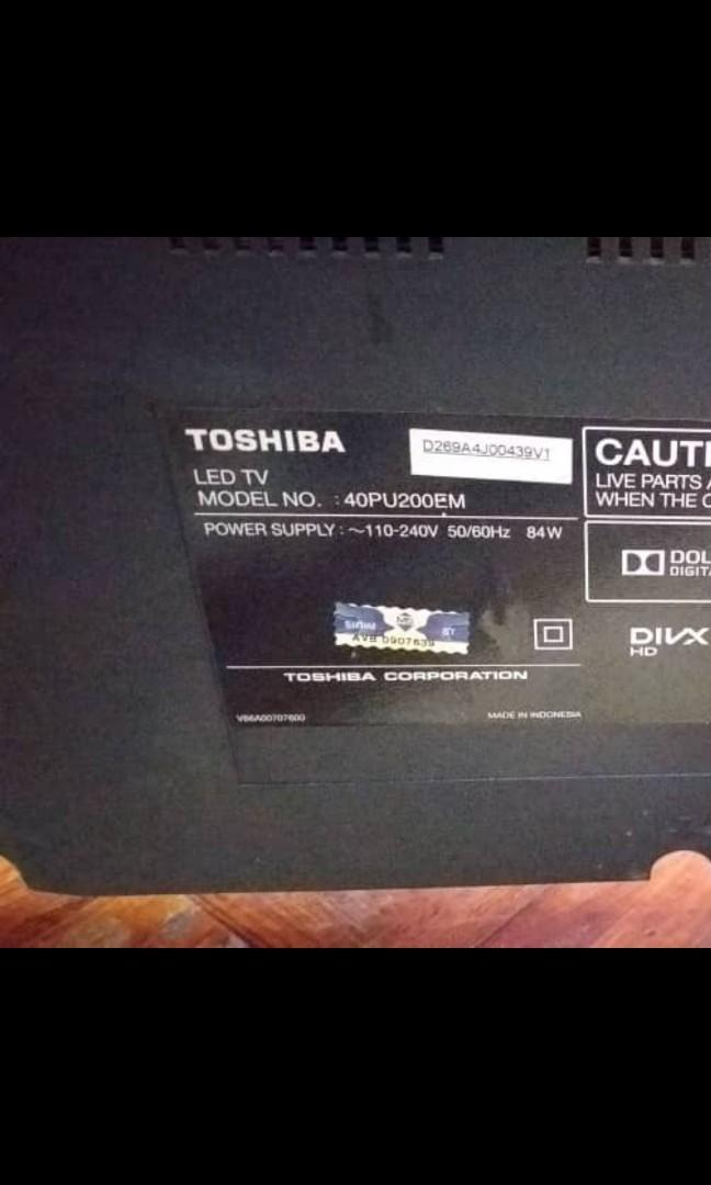 Mainboard Toshiba LED TV