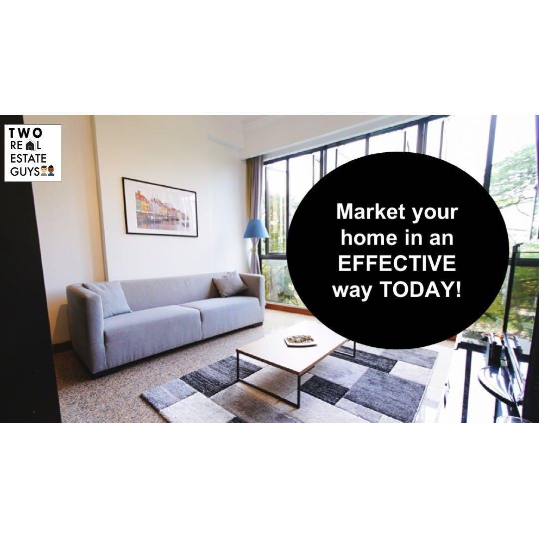 Market your house in an EFFECTIVE way today!