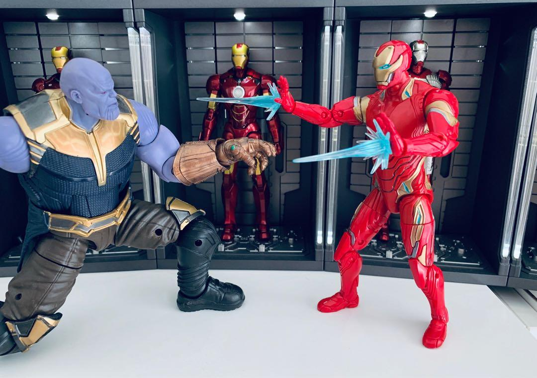 Marvel Legends Iron Man Mark Mk 50 from Thanos Doctor Strange 3-pack