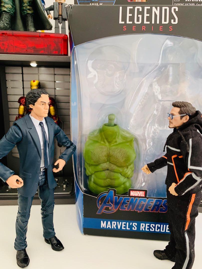 Marvel Legends Smart Hulk BAF Torso from Rescue