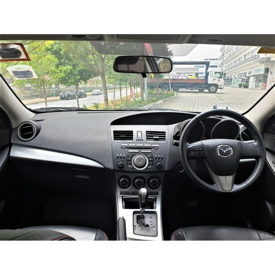 Mazda 3 1.6A Luxury *Lowest rental rates, good condition!