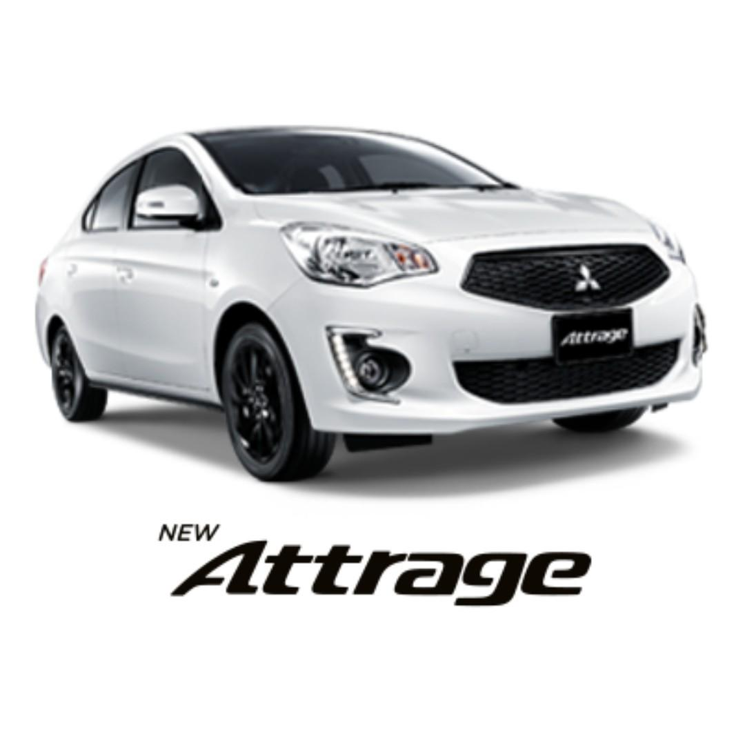 Mitsubishi Attrage Direct from Agent!! PHV Ready!!