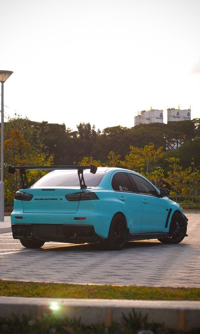 Mitsubishi Lancer Evolution X MIVEC Turbo GSR (M)
