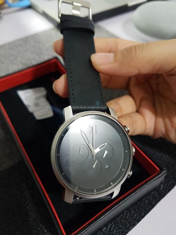 MVMT Chrono Watches | 45 MM Men's Analog Watch Chronograph | Black Silver