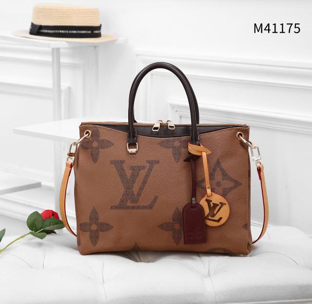 NEW ARRIVAL *THE BEST SELLER MOST WANTED LV PALLAS* *LOUIS VUITTON LV PALLAS PLATINUM GIANT COLLECTION WB M41175*