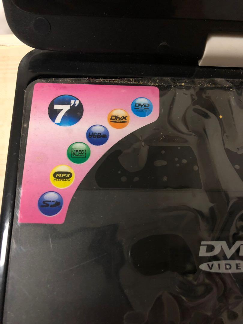O-HI-YO 7吋掌上型多功能播放器DVD player CPD-12(CPD-12)