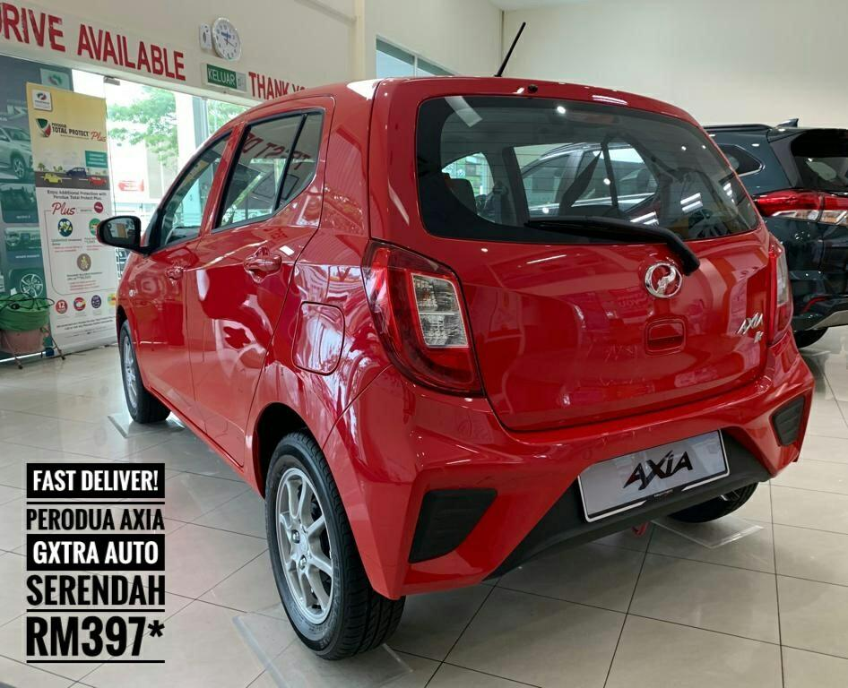 FAST DELIVERY FOR THIS MONTHS! ➡PERODUA AXIA GXTRA (NEW EDITION)
