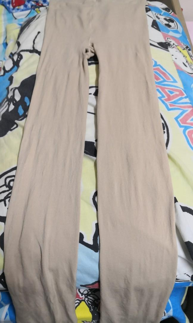 120D Skin tone footless tights