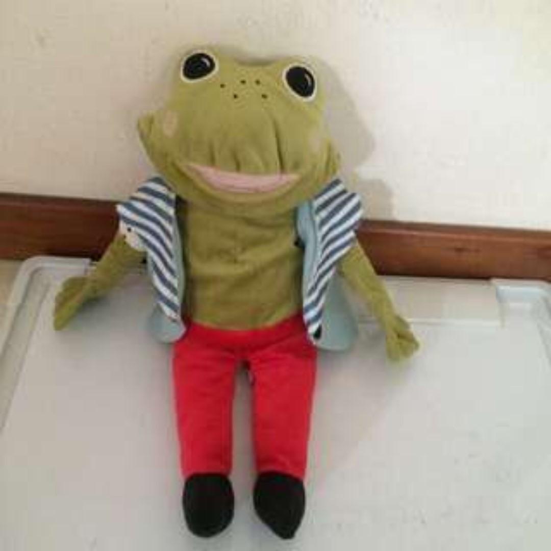 Preloved Frog Prince Soft Toy