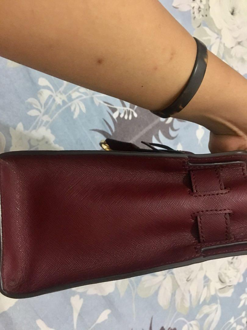 Preloved MK Ori Dillon Small Satchel / Tas Wanita / Hand Bag / Branded