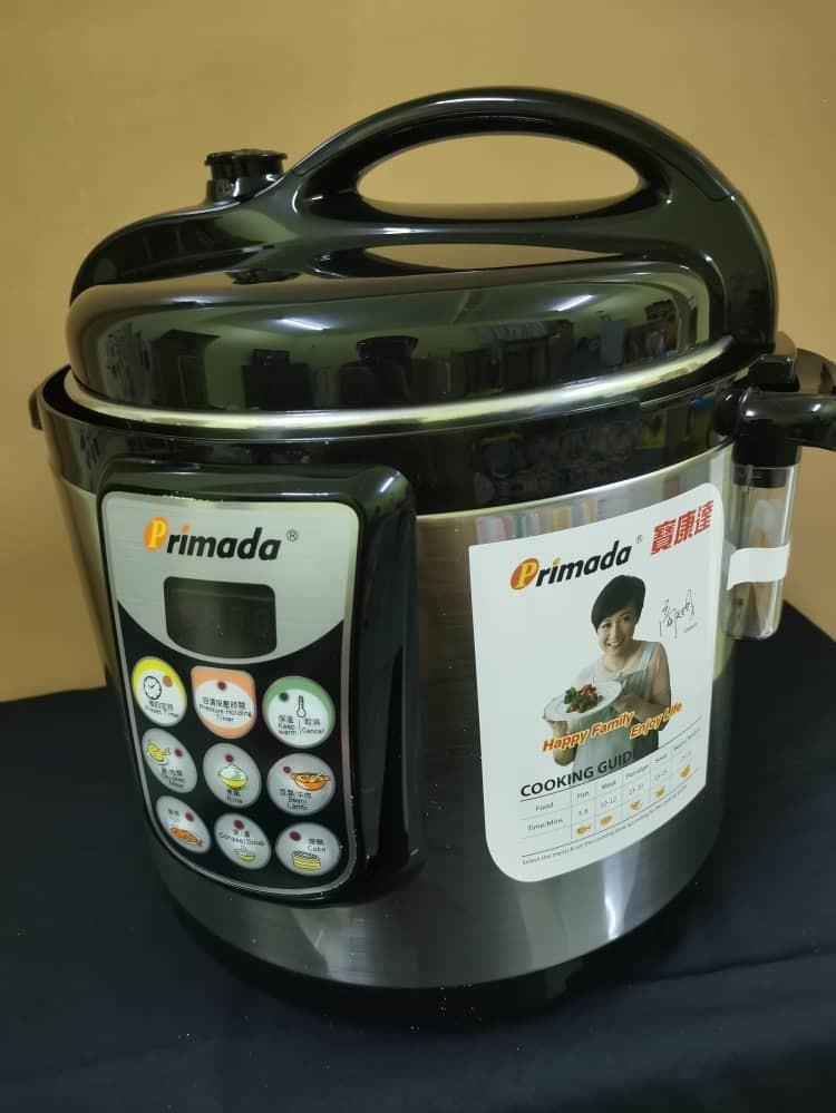 Pressure Cooker (Free Lots of Item)