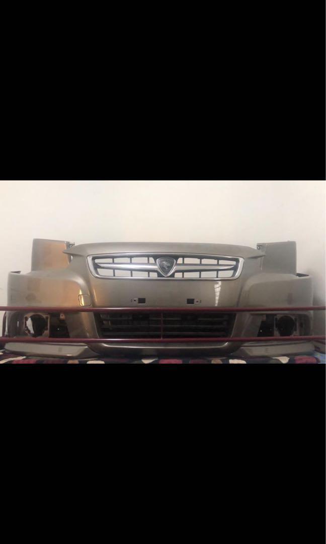 Proton inspira Front + Rear bumper complete grill