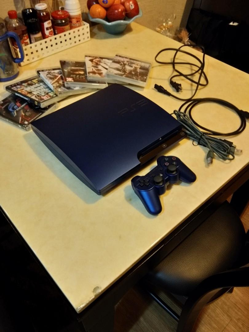 Ps3 149gb +6 game 1 controller HDMI +network line + ac power line
