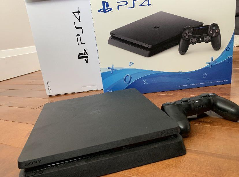 PS4 console with 1 controller - 1TB SWAP with Nintendo Switch
