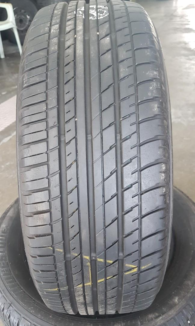 Second tyre