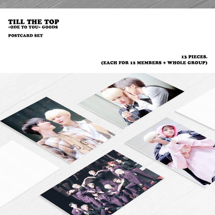 SEVENTEEN HOSHI TILL THE TOP <ODE TO YOU> Tour Goods Reservation