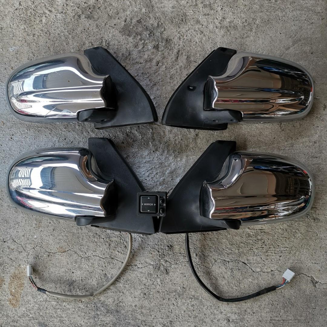 Side mirror chrome L7 Gino - Kelisa