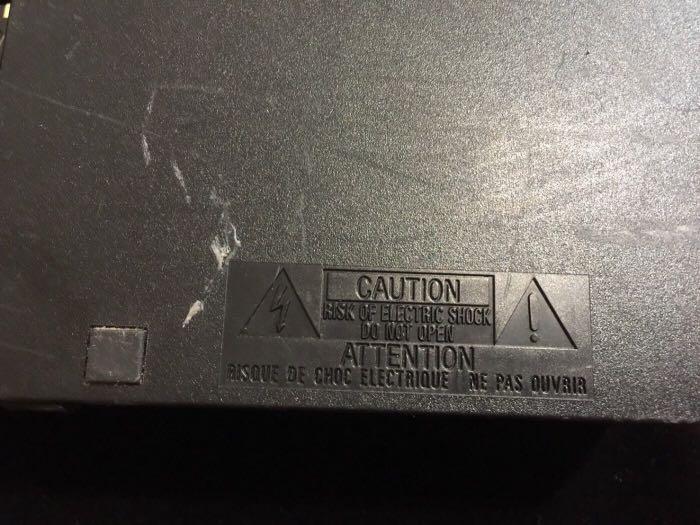 SONY PS2 SCPH-39007 日本製 PS2遊戲機主機 零件機