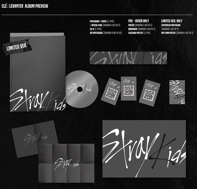 Stray Kids - Mini Album [Clé : LEVANTER] (Limited Edition)