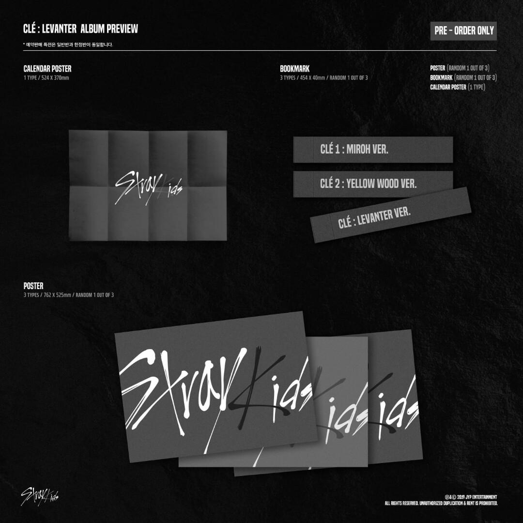 STRAY KIDS CĹE LEVANTER LIMITED VERS.