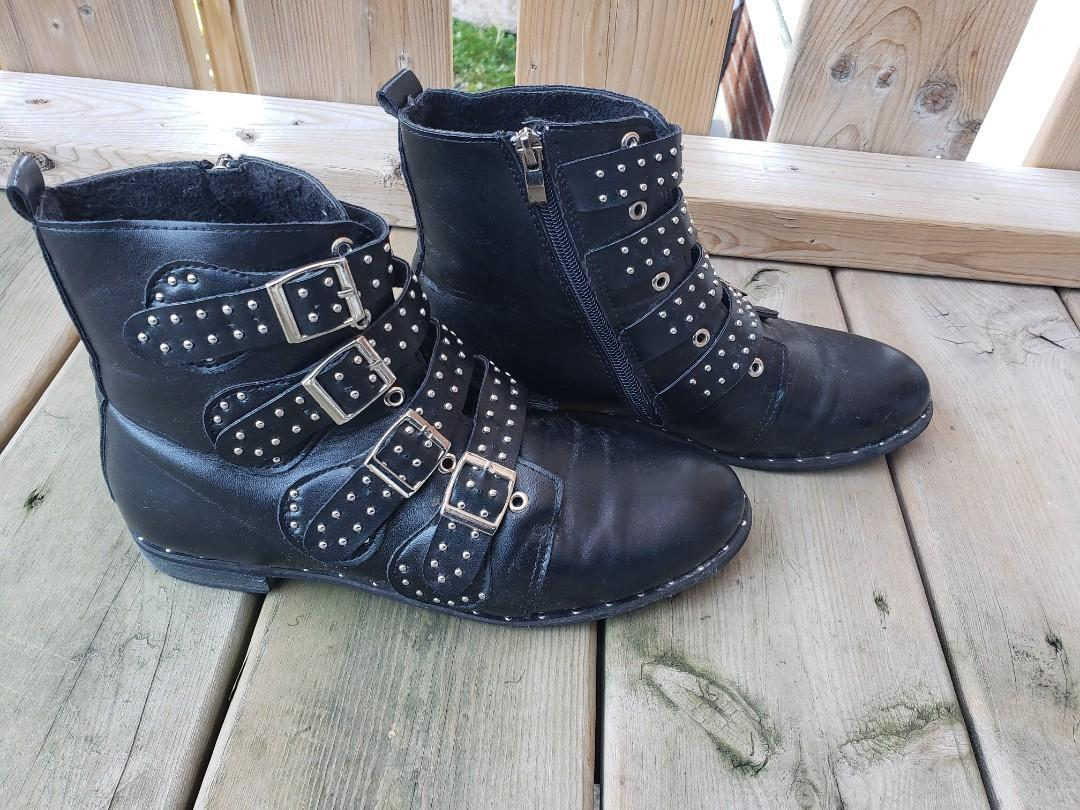 Studded Ankle Boot (givenchy style)