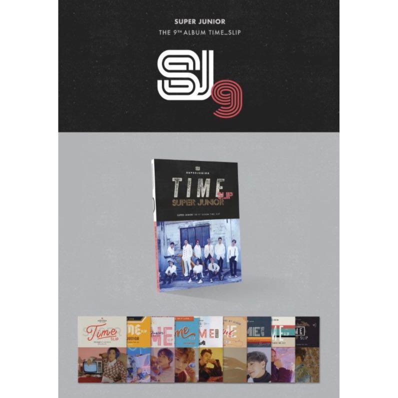 SUPER JUNIOR - TIME SLIP (9TH ALBUM)