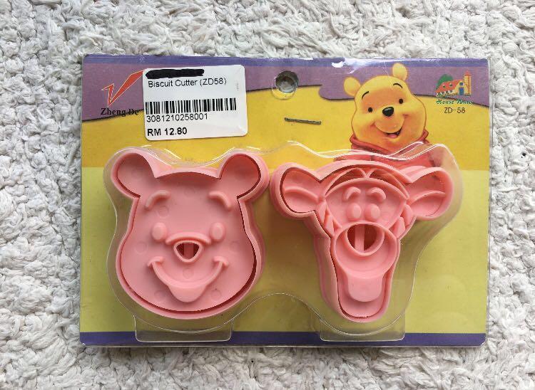Tigger & Pooh Disney Cookies Cutter #1111