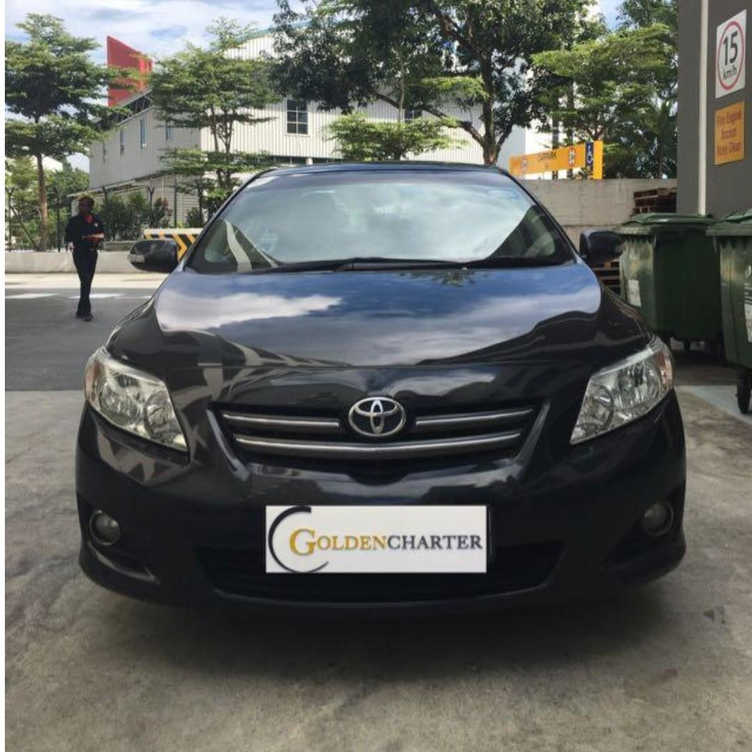 Toyota Altis For Rent ! Weekly Rental Rebate Avail ! -PHV-Personal-Gojek-Grab-Tada-Ryde |