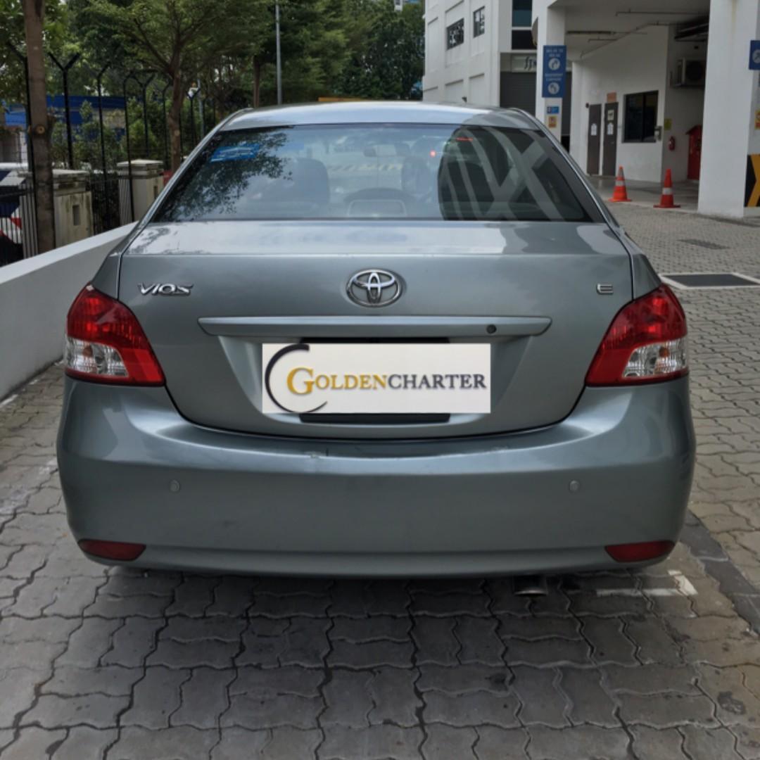 Toyota Vios For Rental ! Rental Rebate Avail | PHV-Personal-TADA-Grab-Ryde|