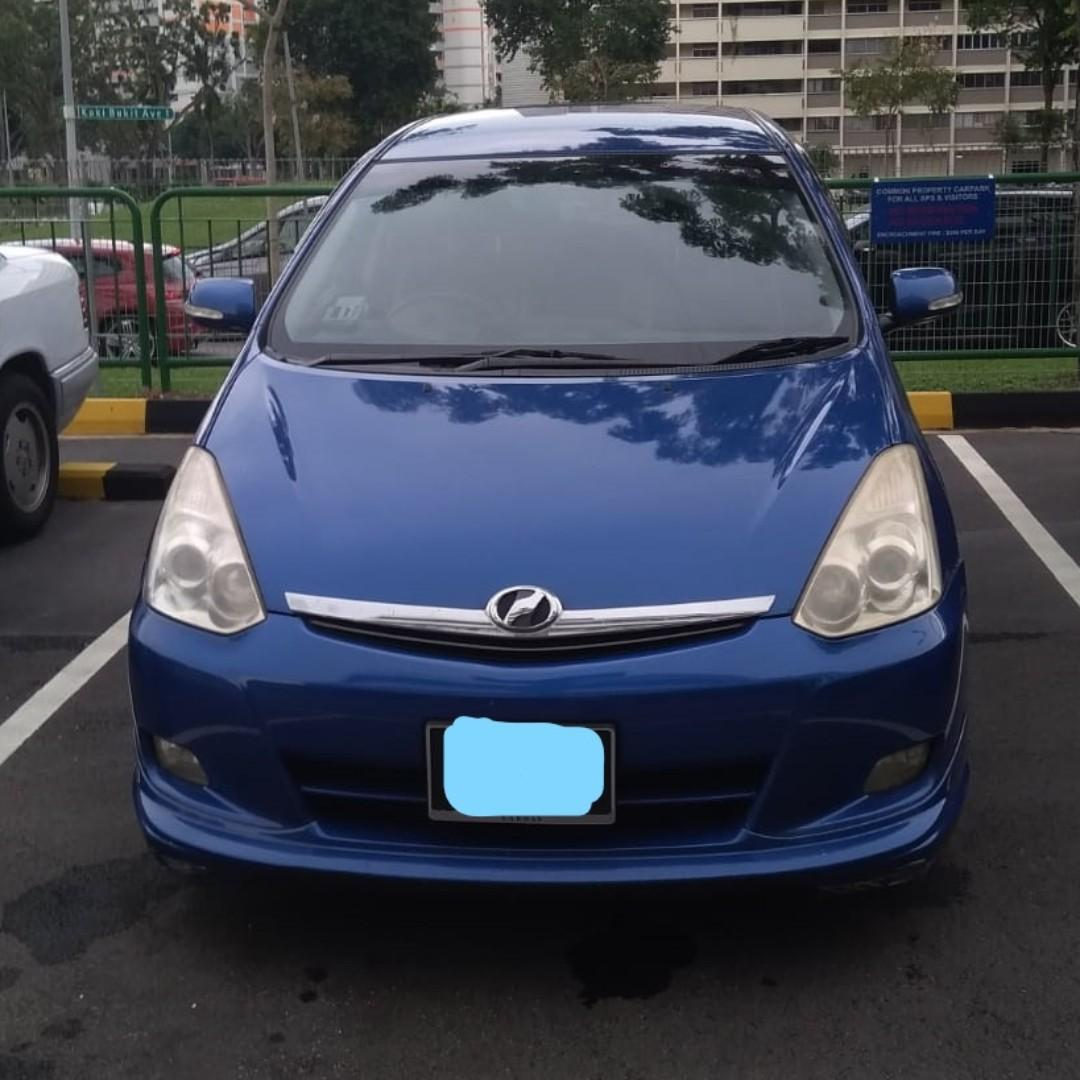 Toyota Wish For Grab/Go-jek
