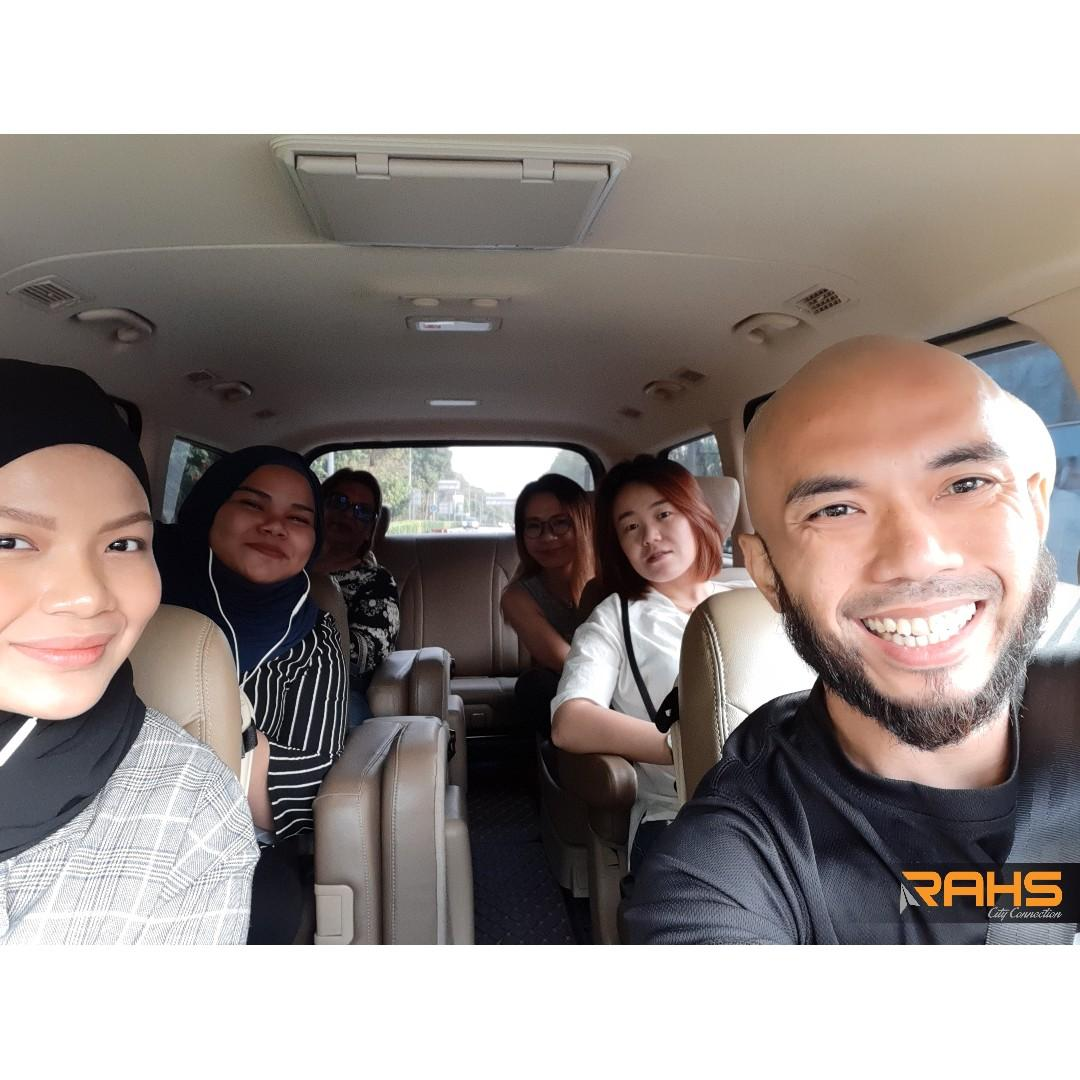 Transport with driver SG to JB, or any part in Malaysia