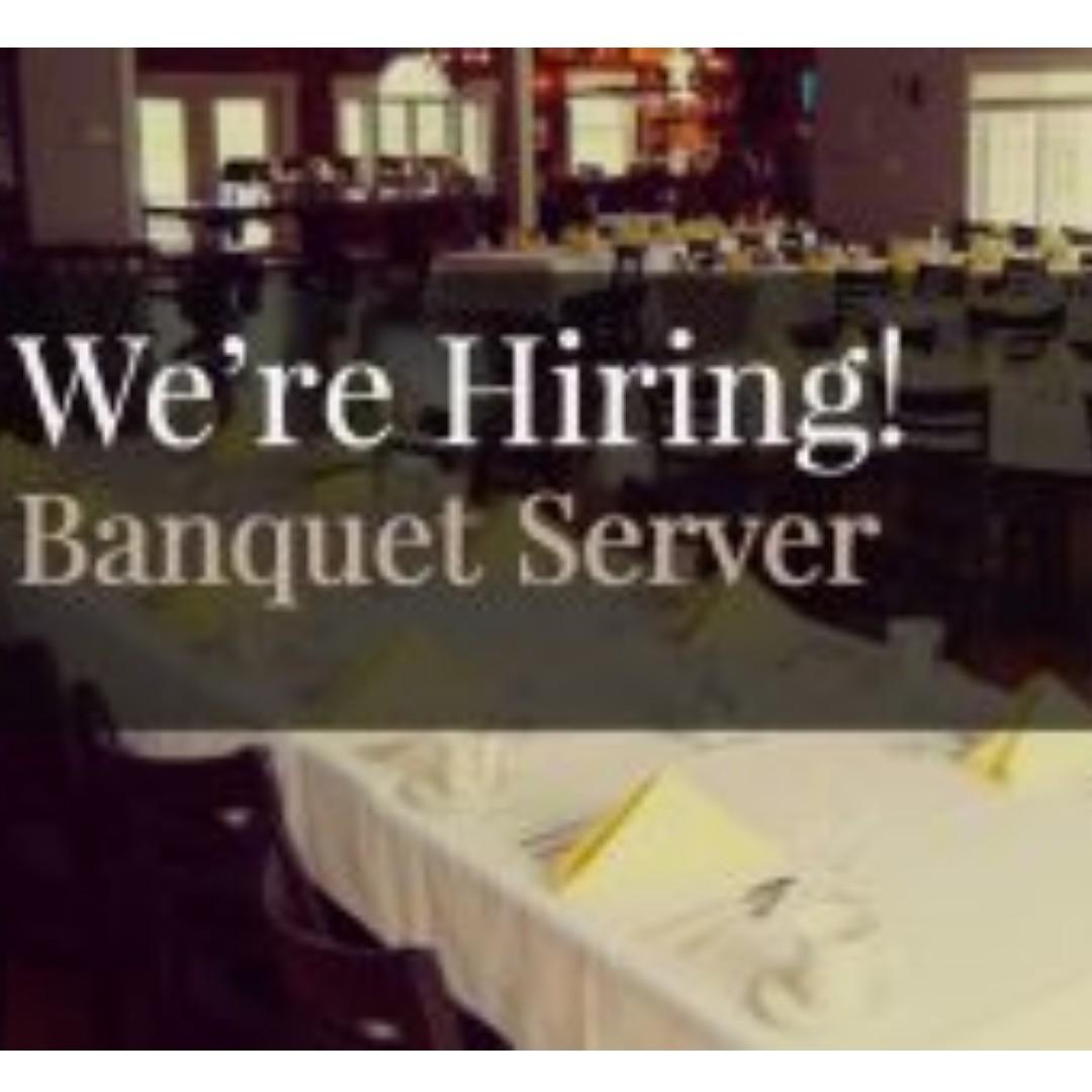 Up To $12 Daily Paid Banquet Server