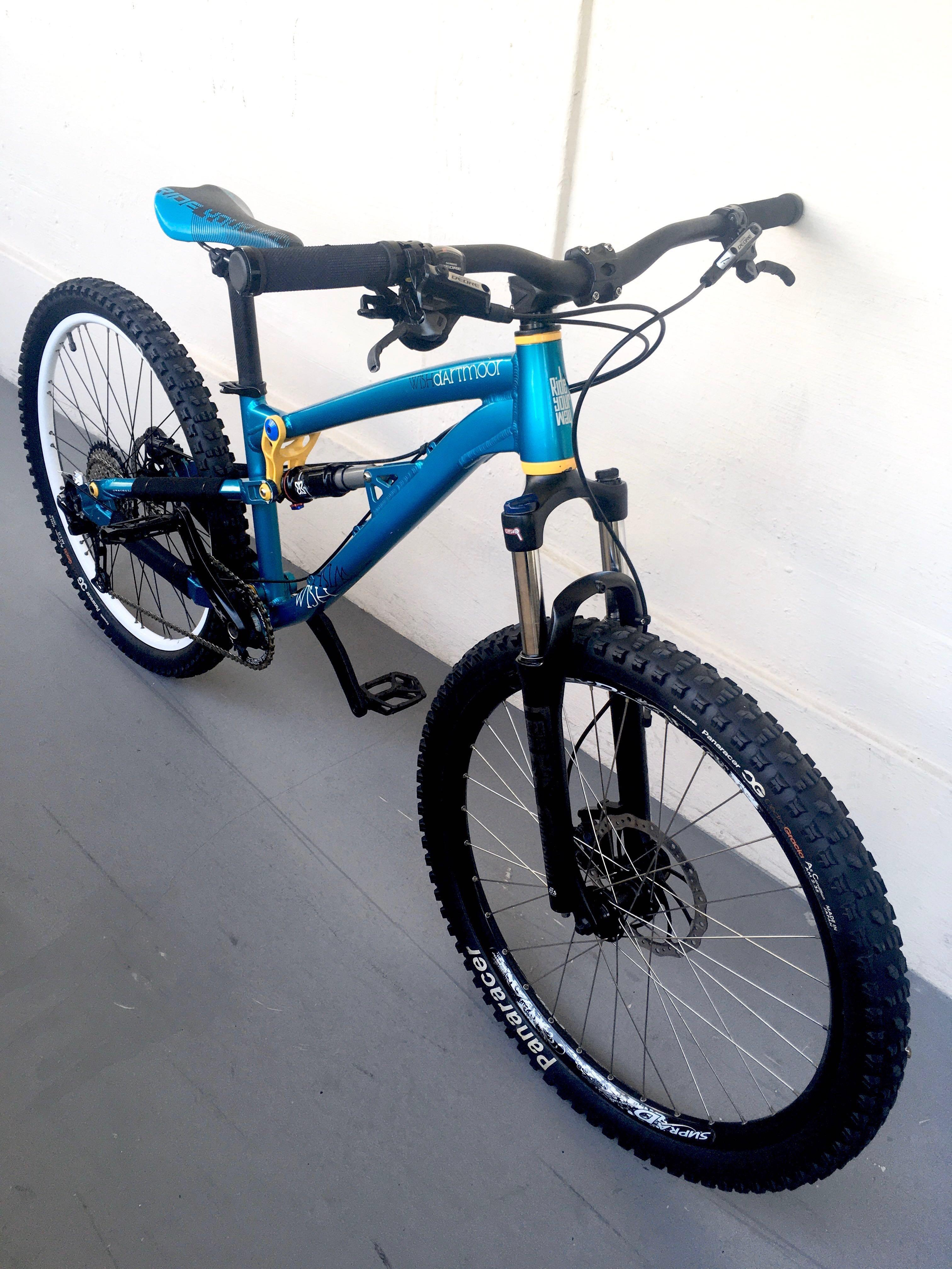 Used Bicycle Components — Dartmoor Wish MTB