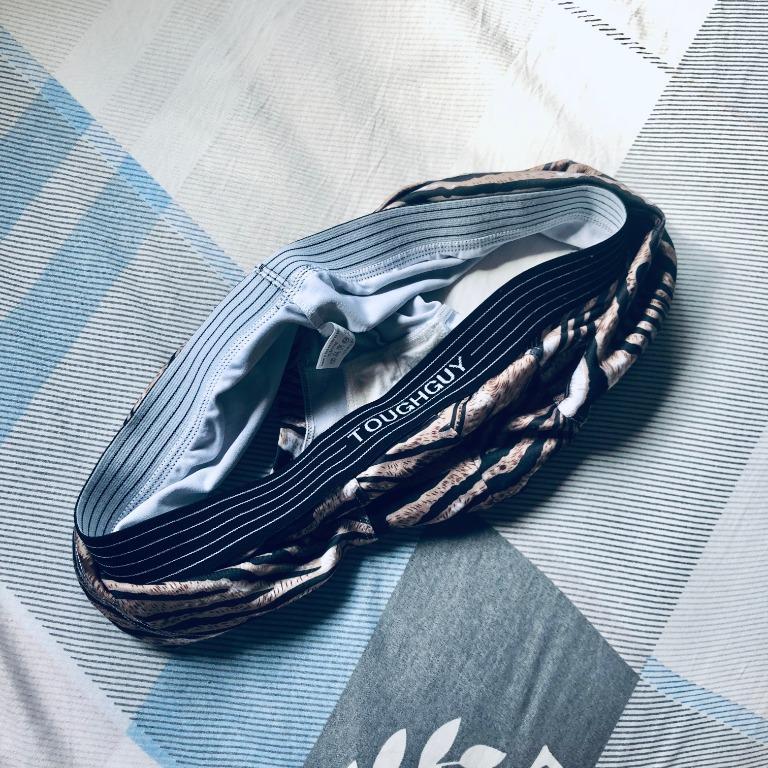 TOUGH GUY tiger print men underwear - trunk (L size)