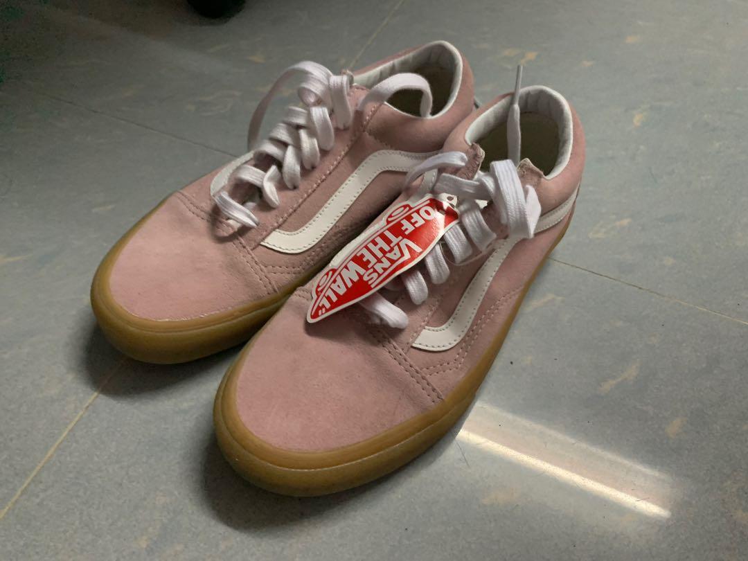 Vans Old Skool Double Light Gum, 女裝