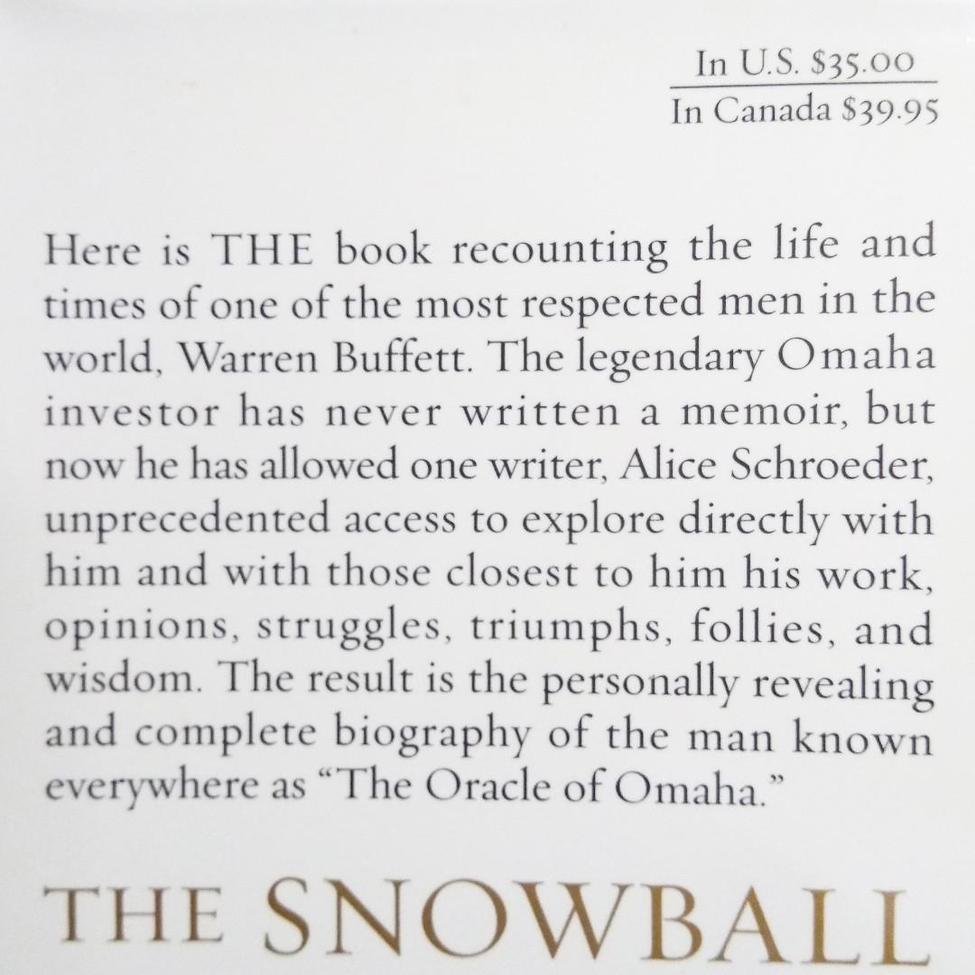 Warren Buffet - The Snowball