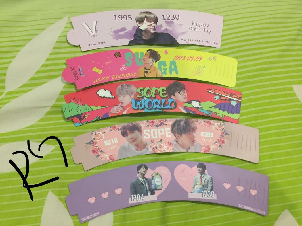 WTS BTS CUPSLEEVE