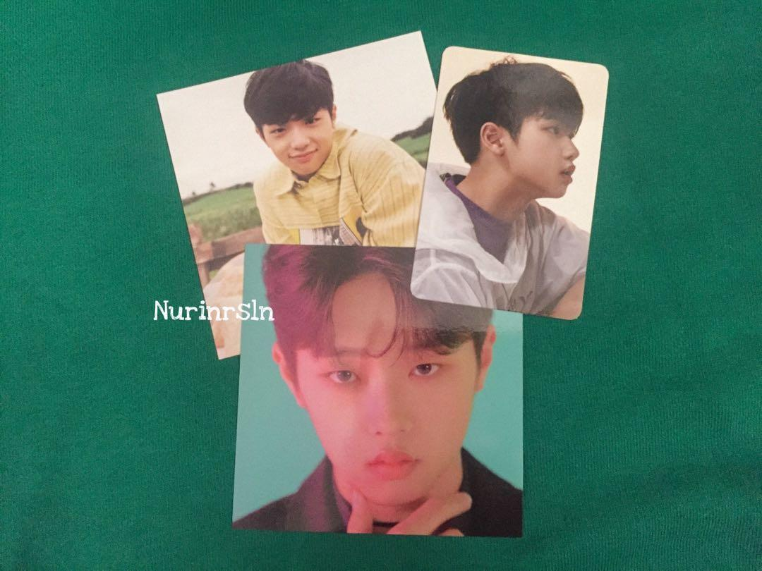X1 SON DONGPYO OFFICIAL SHOWCON BINDER PC + KIHNO PC (both ver)‬
