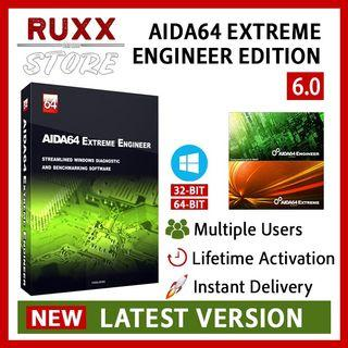 [FREE 3 SOFTWARE] AIDA64 Extreme Engineer Edition 6 Full Version Lifetime